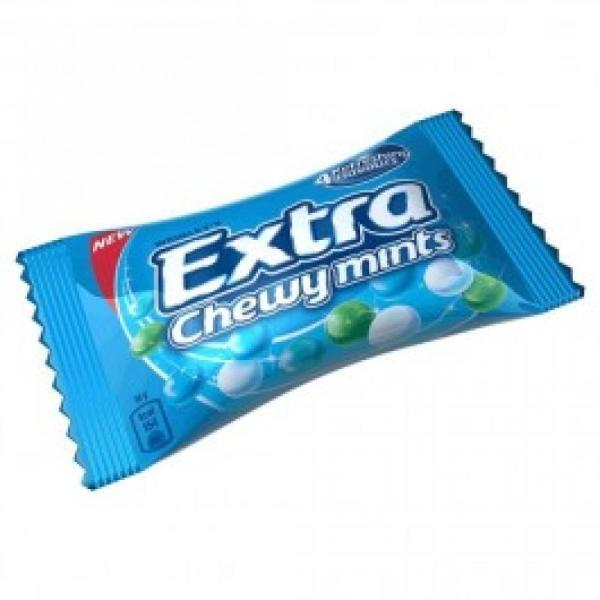 Wrigleys Extra Chewy Mints 4 Flavours 38g Approved Food