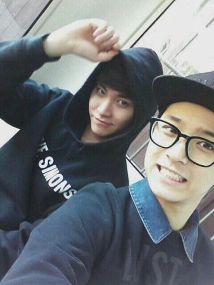 190313 - jaejin et seunghyun @ weibo