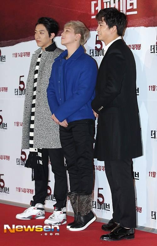 081113 - Hongki @ 'The Five' VIP Premiere 04