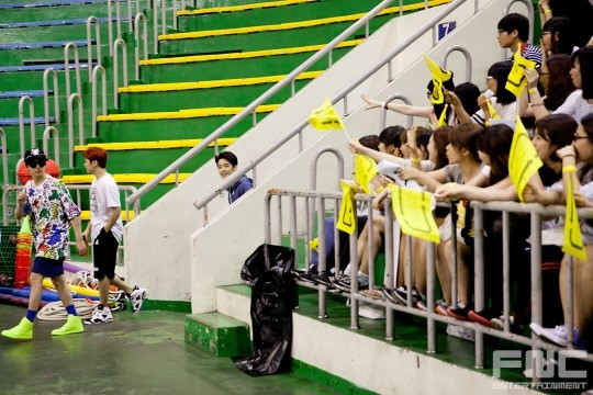 31.08.14 - ftisland athletics pri day 02