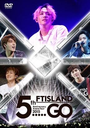 Photos ftisland arena tour 5 GO DVD version normale