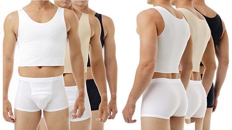 There are many good quality chest binders available. This is an Underworks Tri-top chest binder. A Complete Guide to Chest Binding for Trans Men.A Complete Guide to Chest Binding for Trans Men