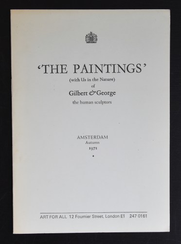 gilbert george paintings a