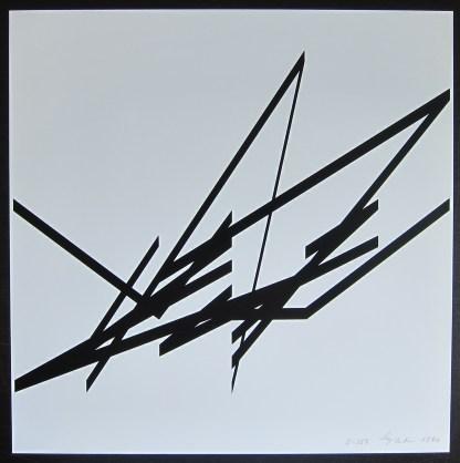 Albert Rubens / silkscreen, 1990