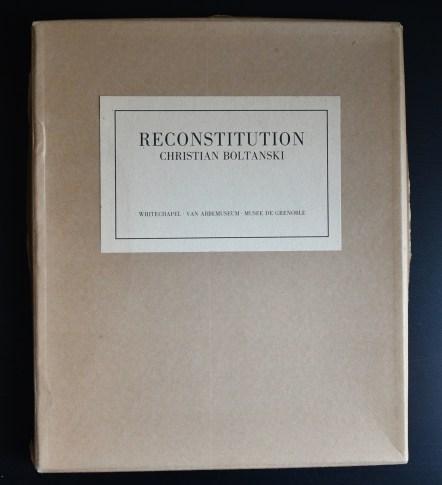 boltanski reconstitution a