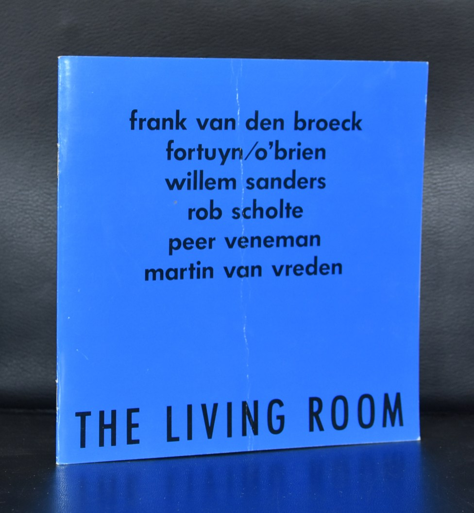living room blauw