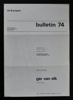 elk bulletin 74 a