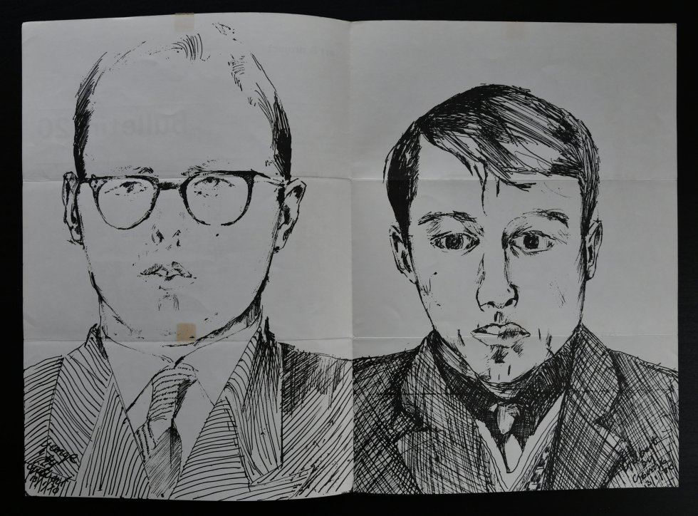 gilbert & george bulletin 20 b