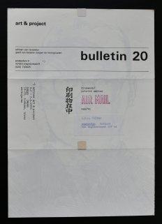 gilbert & george bulletin 20 a