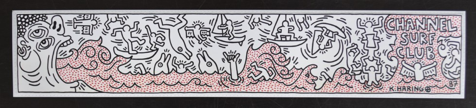 haring bookmark a