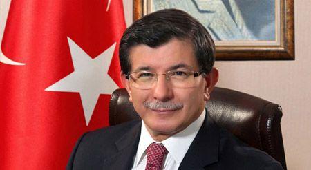 turkish pm ahmet davutoglu