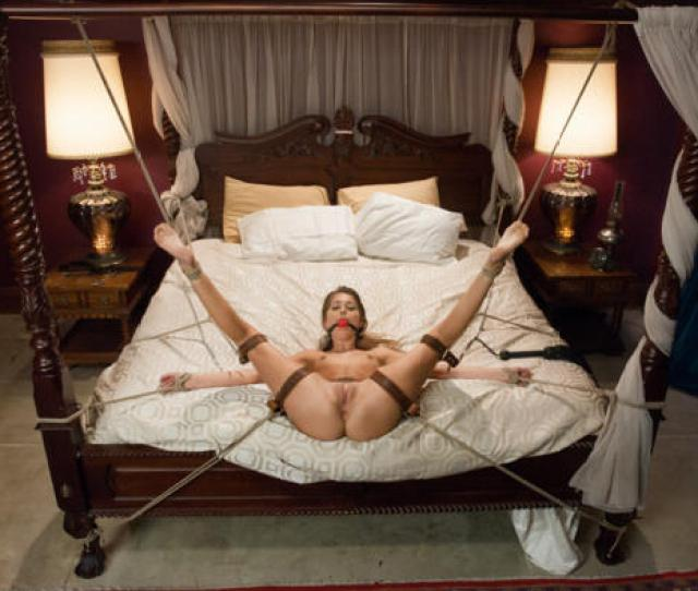 Riley Reid Porn Star Legs Wide Pussy Bondage Tied Submissive
