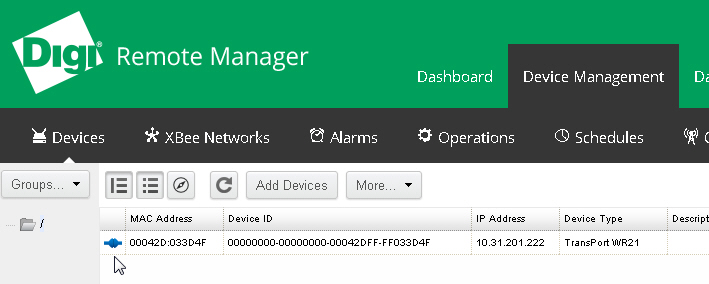 Remote Manager Router Additions