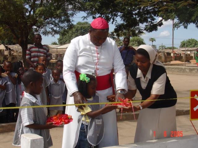 inauguração parque-infantil