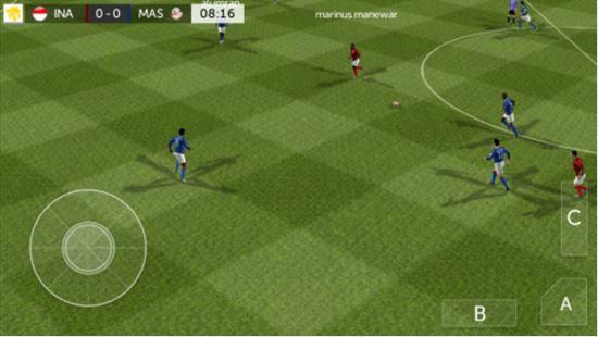 FTS 18 Liga Indonesia Mod Gameplay