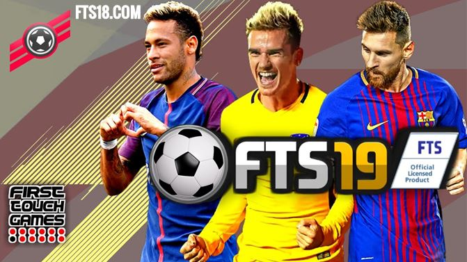 First Touch Soccer 2019 (FTS 19 APK) | Mod + OBB + Data Files