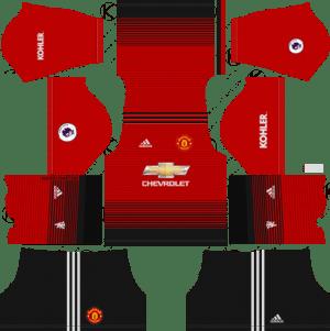 FTS 18 Kits & Logos - Real Madrid, Barcelona & Premier League Kits