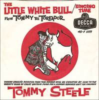 The record sleeve for Little White Bull