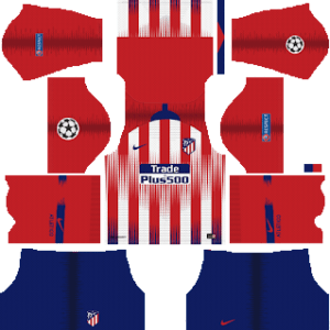 Atletico Madrid UCL Home Kit