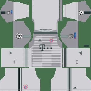 Bayern Munich UCL Goalkeeper Home Kit