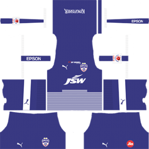 Bengaluru FC Kits 2018/2019 Dream League Soccer