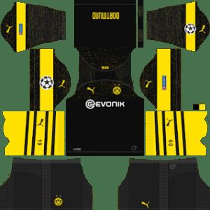 Borussia Dortmund UCL Away Kit