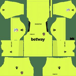 Levante UD Goalkeeper Away Kit 2019