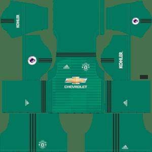 Manchester UnitedGoalkeeper Home Kit 2019