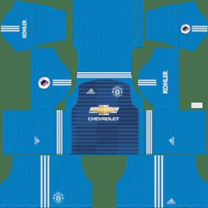 Manchester UnitedGoalkeeper away kit 2019