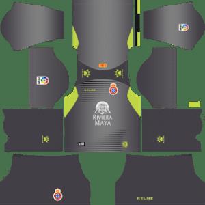 RCD Espanyol Goalkeeper Home Kit 2019