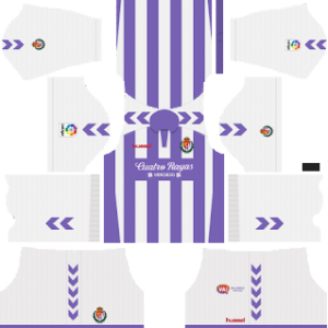 Real Valladolid Kits 2018/2019 Dream League Soccer