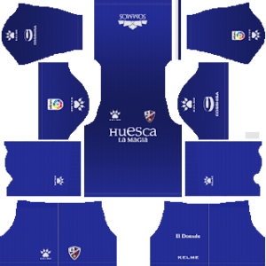 SD Huesca Goalkeeper Away Kit 2019