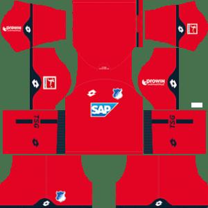 TSG Hoffenheim Goalkeeper Away Kit 2019
