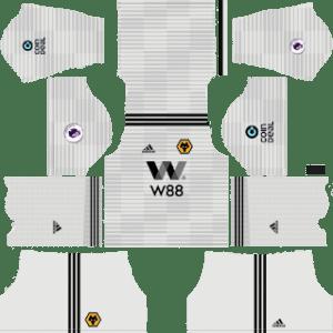 Wolverhampton Wanderers FC Away Kit 2019