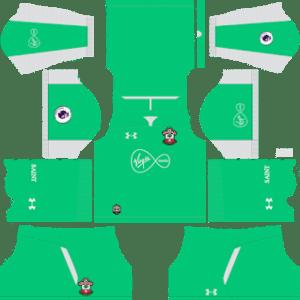 Southampton FC Goalkeeper Away Kit 2019