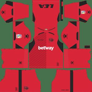 Deportivo Alaves Goalkeeper Away Kit 2019