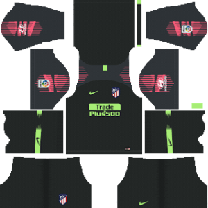 Atletico Madrid Goalkeeper Home Kit 2019