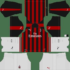 AC Milan Kits 2018/2019 Dream League Soccer