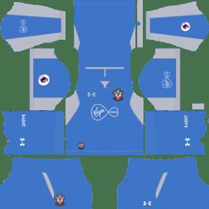 Southampton FC Goalkeeper Home Kit 2019