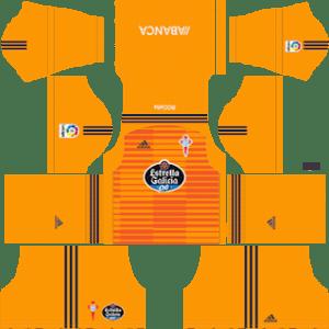 Celta Vigo Goalkeeper Third Kit 2019