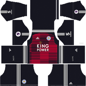 Leicester City Goalkeeper Home Kit 2019
