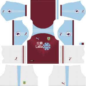Burnley FC Kits 2018/2019 Dream League Soccer