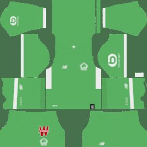 LOSC Goalkeeper Third Kit 2019