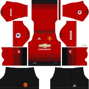 Manchester United Kits 2018/2019 Dream League Soccer