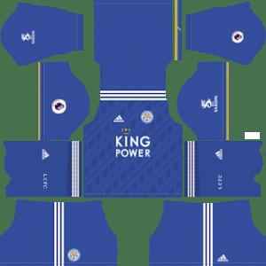 Leicester City Kits 2018/2019 Dream League Soccer