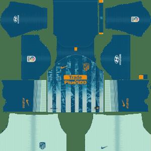 Atletico Madrid Third Kit 2019