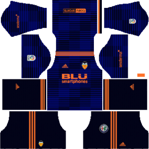 Valencia CF Away Kit 2019