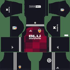 Valencia CF Goalkeeper Home Kit 2019