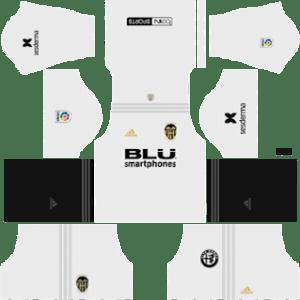 Valencia CF Kits 2018/2019 Dream League Soccer