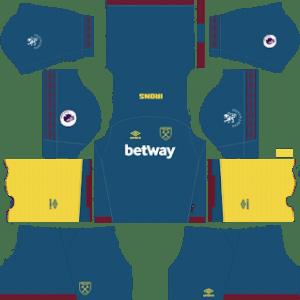 West Ham United Away Kit 2019